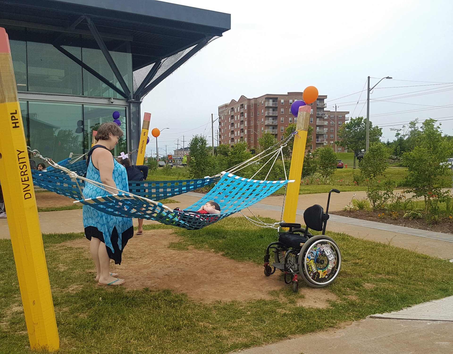 KG Hammock & Wheelchair