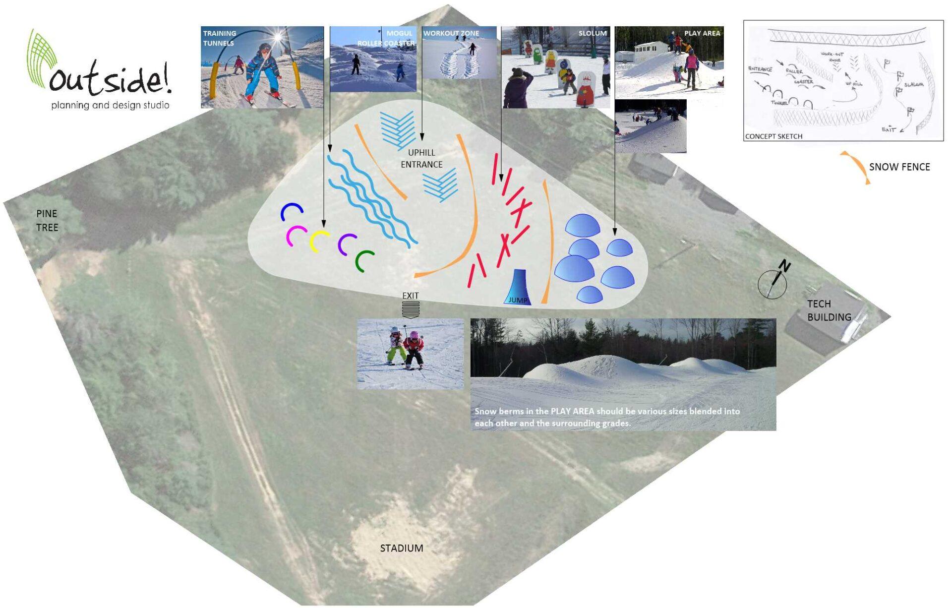 Snow Playground Layout
