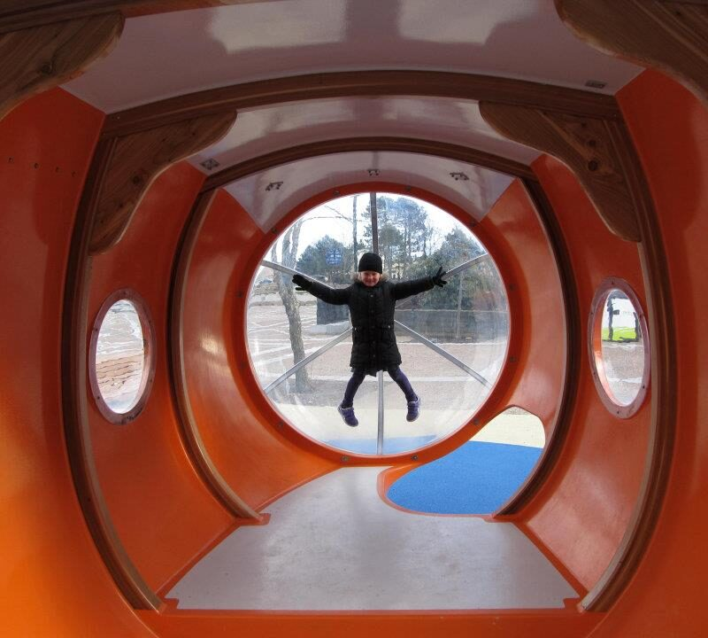 Halifax Waterfront Submarine Playground